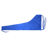 420D 8-9ft Sailboat Cover Blue Sail Cover Mainsail Boom Waterproof Protection