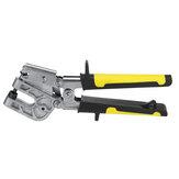 Carbon Steel 10 Inch Single Hand Keel Forceps Metal Punch Lock Drywall Hand Tool Stud Crimper