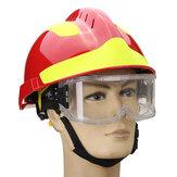 NOWOŚĆ Kask ratowniczy Safurance Straż pożarna Okulary ochronne Ochraniacze bezpieczeństwa pracy Bezpieczeństwo przeciwpożarowe 53CM-63CM