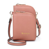 Brenice Женское Multi-Slot Comestic Crossbody Сумка
