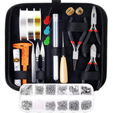 DIY Jewelry Making Supplies Kit With Tools Jewelry