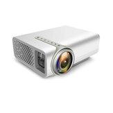 Ev Sinema Sistemi Için YG520 projektör Film Video Projektör HDMI AV USB Ile Ev Mini HD 1080P Projektör
