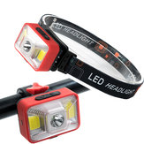 XANES XL27 550LM Multifunctional Bike Headlight USB Rechargeable IPX5 Waterproof HeadLamp