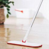 YIJIEYCMopadesechablenotejida Anillo seco seco de doble uso Gancho Diseño Fregona de aluminio para piso Silm Flat Mop de Xiaomi Youpin