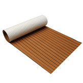 240cm x 90cm x 5mm EVA Foam Teak Sheet Boat Yacht Synthetisch Teak Decking Met Lijm