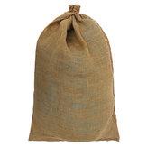 БольшойГессианДжутСумкаМешокс Песком Мешок С Песком Производят Кухню Хранения Сумка 60x90 СМ