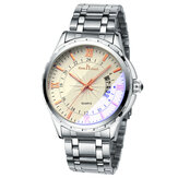 Fashion Full Steel Date Display Business Style Men Watch