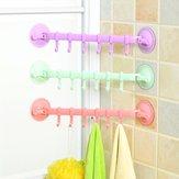 Lock-type sterke zuignappen haak keuken badkamer muur handdoekhouders