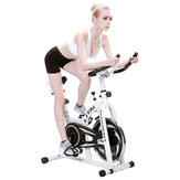 Ultra-silencioso LCD Display Home Exercise Bike Indoor Sports Aptidão Equipamentos Bicicleta Bicicletas 8KG Aço Volante Bicicleta