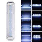 3/5/7/9W Luz do tanque de peixes 220V LED Interruptor de linha de luz azul + branco de economia de energia
