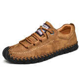 Toe Protection Stitching Soles Soft Oxfords
