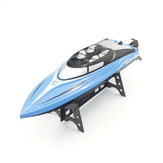 H108 2.4GHz 4CH 25KM / h de alta velocidade Mini Racing RC Boat RTR