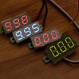 Geekcreit® 0,28 inch tweedraads 2,5-30V driedraads 0-100 / 500V digitaal display DC voltmeter instelbare spanningsmeter