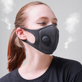 10 PCS PM2.5 Anti Air Pollution Face Mask Breathable Activated Carbon Mouth Mask Camping Travel Cycling Mask