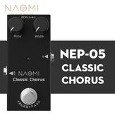 NAOMI Guitar Effect Pedal Full Bodied Sounds DC 9V Mini Single Pedal True Bypass #NEP-05 For Acoustic Guitar