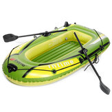 Two Person Inflatable Fishing Boat Thickened Rubber Kayak Boat With Inflatable Pump Outdoor