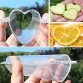 Heart-shaped Cucumber Shaping Mold Garden Vegetable Growth Forming Mould Tool