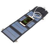 إيبري™5V7Wالمحمولةلوحة للطاقة الشمسية السفر في حالات الطوارئ طوي شاحن قوة البنك مع منفذ أوسب