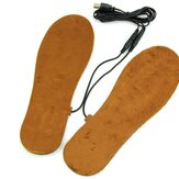 1 Pair USB Electric Powered Heated Tools Insoles Keep Feet Warm Pad Free Size