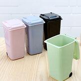 Миниые мусорные баки 650мл для рабочего стола с мусорным ведром