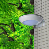 16 LED Solar  Powered Radar Motion Sensor Wall Light Outdoor Waterproof Security Street Lamp