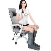 12 В 24 Вт 3-х режимная компрессионная терапия для ног с подогревом Электрический массажер для теленка Релаксация Фитнес Оборудование