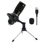 BlitzWolf® BW-CM USB 48KHZ/24Bit Condenser Microphone Cardioid Pattern HiFi Noise Reduction Microphone with Stable Tripod