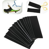 12st 110mm x 35mm zwarte houten toets skateboard schuim grip tape stickers