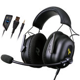 Somic G936N Gaming Headset 7.1 Surround Sound USB 3.5mm ENC avec atténuation du bruit avec micro
