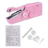Máquina de costura portátil de costura de ponto portátil Mini ferramenta elétrica de alfaiataria sem fio