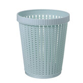 Home Kitchen Office Trash Can Bin Storage Basket Built-in Garbage Bag Container