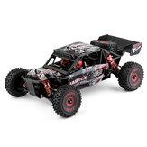 Wltoys 124016 1/12 4WD 2.4GRCカーブラシレスデザートトラックオフロード車モデル高速75km / hメタルシャーシ