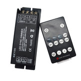 DC12-24V 25A RF Wireless Remote Controller LED Dimmer for Single Color Strip Light