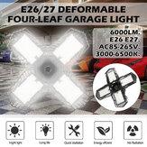 E26 / E27 Żarówka garażowa LED 2835SMD Wielopłaszczyznowa sufitowa składana lampa warsztatowa Dekoracja wnętrz Oświetlenie