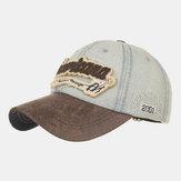 Yıkanmış Pamuk Amerikan Nakış Beyzbol Şapkası