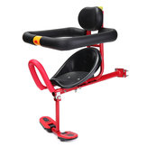 BIKIGHT Bike Kids Rack Seat Protection Safety Soft Cycling Children Front Saddle Chair Bike Motorcycle E-bike Accessories