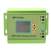 MPT-7210A Aluminiumlegering MPPT Solar Panel Charge Controller met LCD Display