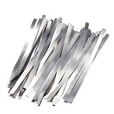 100Pcs Pure Nickel 99.96% Low Resistance Bateria Strip Tabs Mat for Welding 0.1x4x100mm