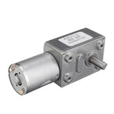 GW370 12V 6rpm Reversible High Torque Turbo Worm Geared Motor DC Motor