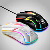 S1 Wired Gaming Mouse 3 Button 2000DPI USB Computer Mouse Ergonômico LED Backlight Gamer Mouse for Computer PC Laptop