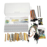 Geekcreit Power Supply Module 830 Hole Breadboard Resistor Condensateur LED Kit