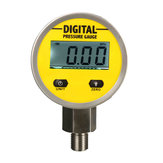 Digital Hydraulic Pressure Gauge 0-250BAR 25Mpa 3600PSI BSP1/4inch Base Entry