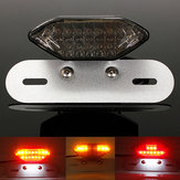 12V 16LED Motorcycle Quad ATV Brake Tail License Plate Light