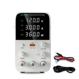 WANPTEK WPS1203B 120V 3A Adjustable DC Power Supply 4 Digits LED Display Switching Regulated Power Supply