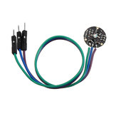 Pulsesensor Pulse Heartbeat Rate Sensor Module Pulse Sensor Geekcreit for Arduino - products that work with official Arduino boards