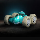 JJRC UD2210 1/24 2.4G 4CH Stunt Drift Deformation Rock Crawler Roll 360 Degree Flip Kids Robot RC Car Toys