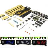 WangDaTao Versione vocale inglese Kit di produzione di orologi elettronici digitali fai-da-te con conchiglia