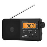 Panda T-04 FM AM Two Band Radio Semiconductor Portable Radio Ondersteuning TF-kaart MP3-speler