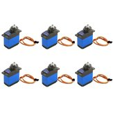 6PCS MG92B Robot 13.8g 3.5KG Couple Metal Gear Digital Servo Pour RC Avion