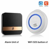 Smarsecur Tuya Smart Wifi Emergency Button Speakers One-key Alarm Call For Help Remote Call Work With Smart Life Tuya APP
